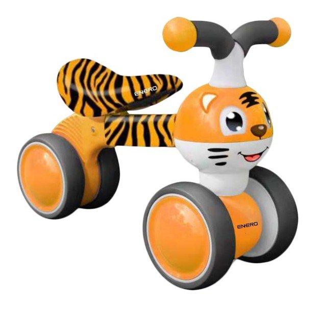 Odrážedlo - Dětské odrážedlo TYGRÁČEK, oranžové
