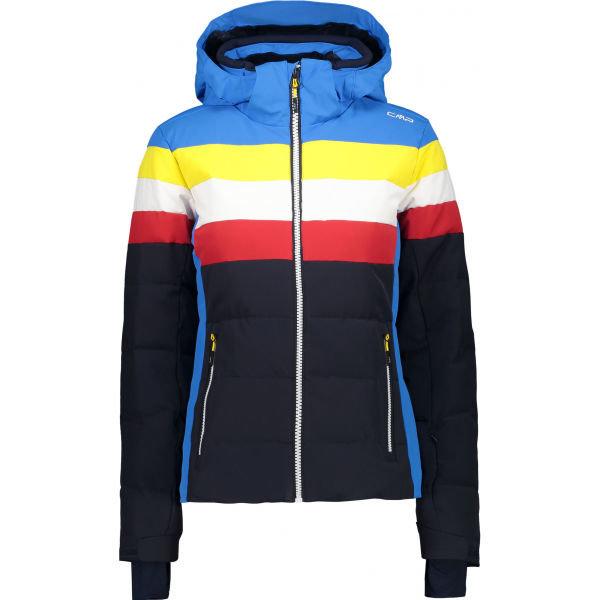 Modrá dívčí lyžařská bunda CMP
