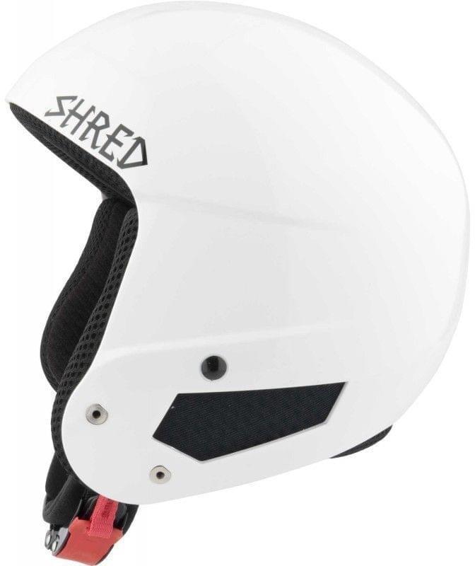 Bílá pánská helma na snowboard Shred - velikost XS-S
