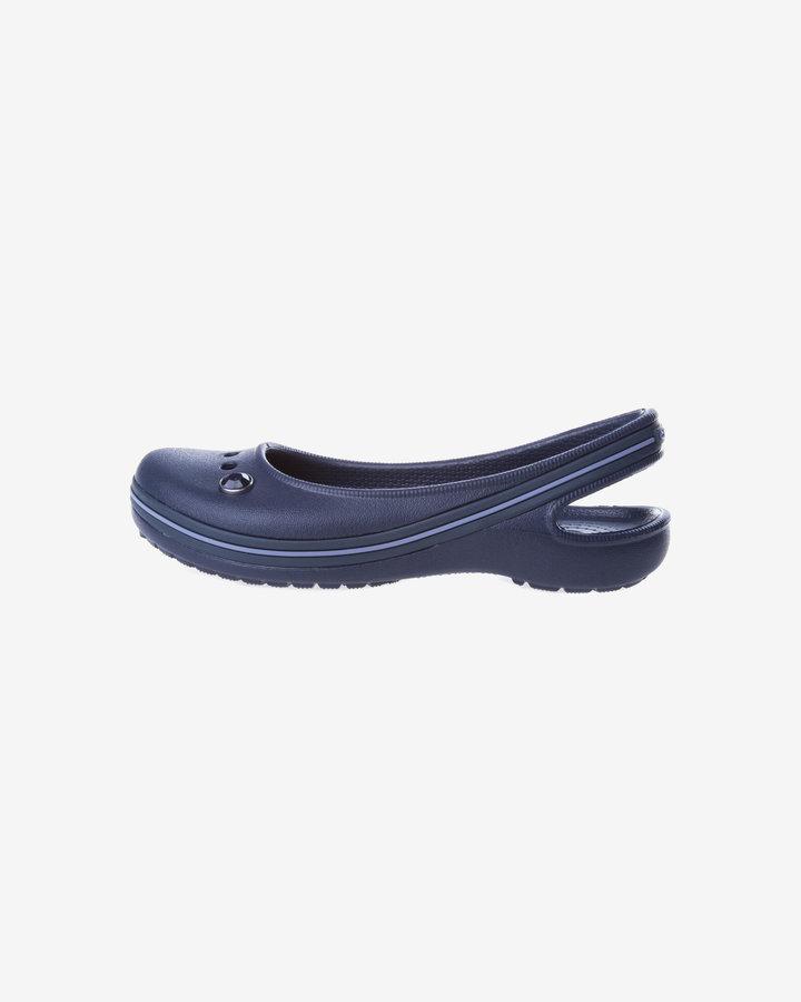 Modré baleríny Crocs