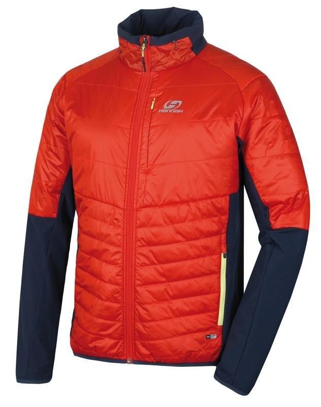Červená pánská lyžařská bunda Hannah