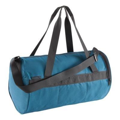Tyrkysová sportovní taška Domyos - objem 20 l
