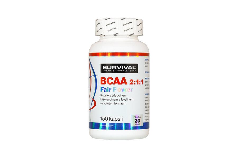 BCAA - Survival BCAA 2:1:1 Fair Power 150 tbl