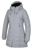 Kabát - Dámský zimní kabátek Normy S, sv. šedá