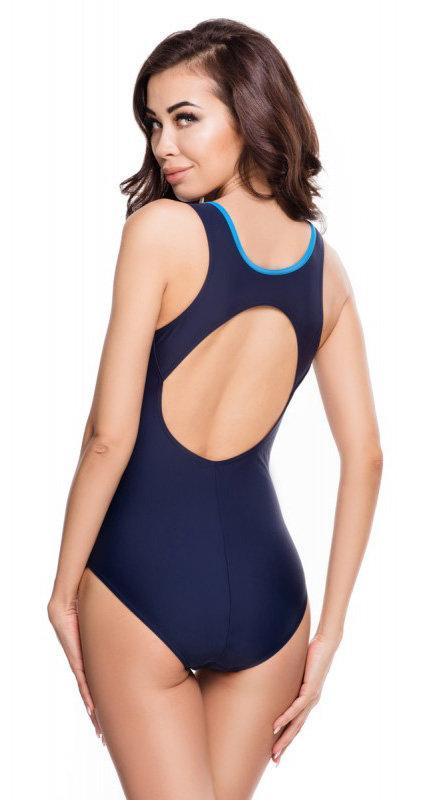 Modré dámské plavky Aqua-Speed - velikost 36