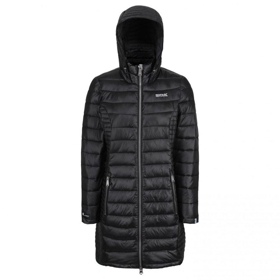 Černý zimní dámský kabát Regatta