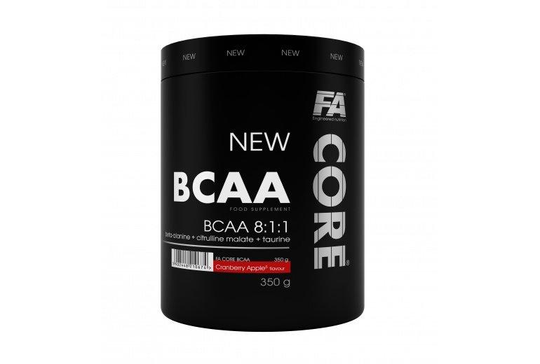BCAA - Fitness Authority BCAA Core 8:1:1 350 g Příchuť: Guava s hruškou exp 3/19