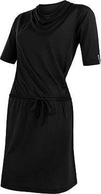 Černé dámské šaty Sensor