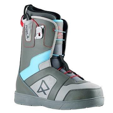 Modro-šedé pánské boty na snowboard ROBLA - velikost 47 EU
