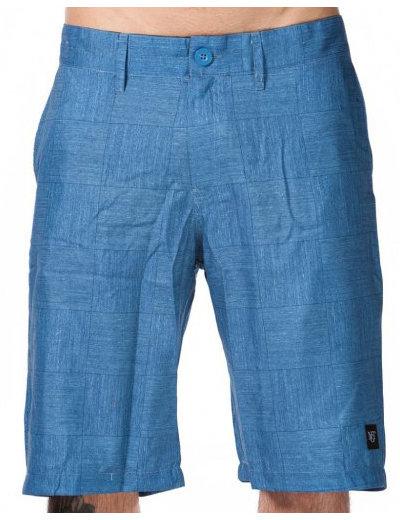Modré pánské koupací kraťasy Thizz B-Blue Plaid, Nugget