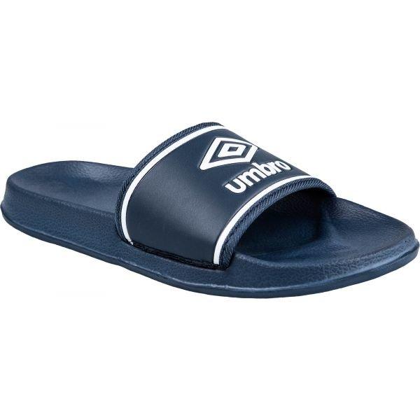 Modré dětské pantofle Umbro
