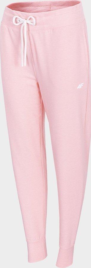 Růžové dámské tepláky 4F