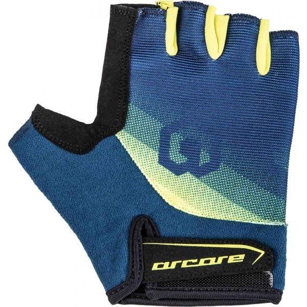 Modré pánské cyklistické rukavice Arcore