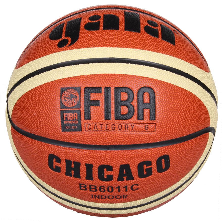 Oranžový basketbalový míč Chicago, Gala - velikost 6