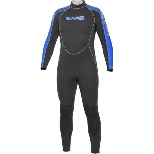 Modrý pánský neoprenový oblek Velocity Full 3/2 Men, Bare - velikost XLT a tloušťka 3 mm