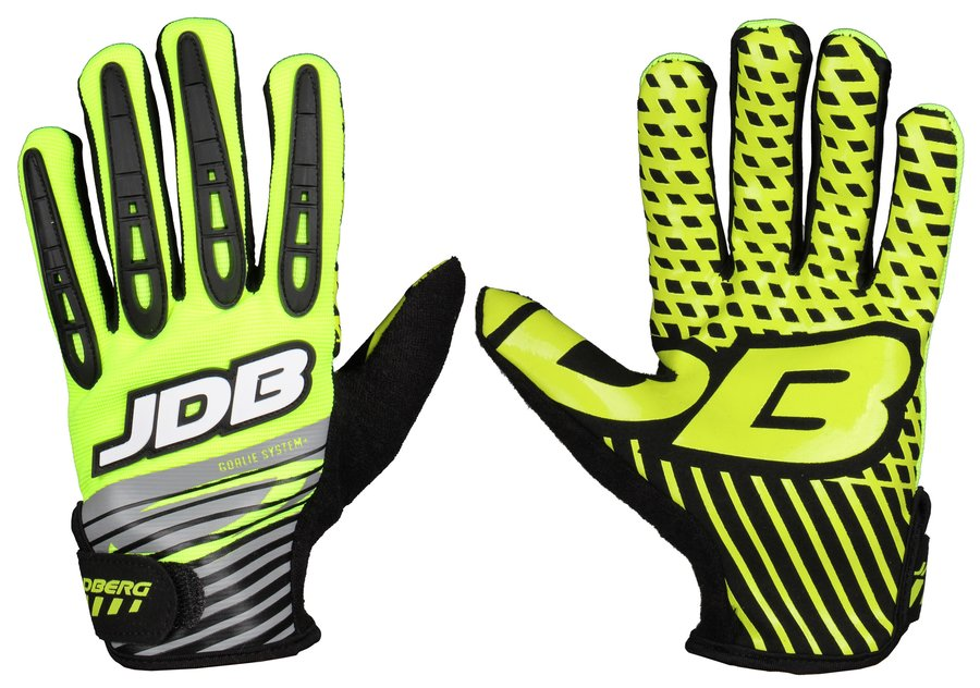 Zelené brankářské florbalové rukavice Rodeo, Jadberg