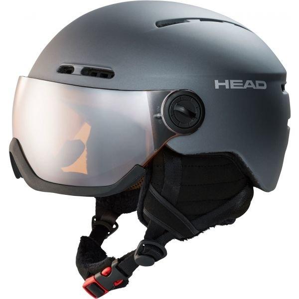 Lyžařská helma - Head KNIGHT tmavě šedá (58 - 61) - Lyžařská helma