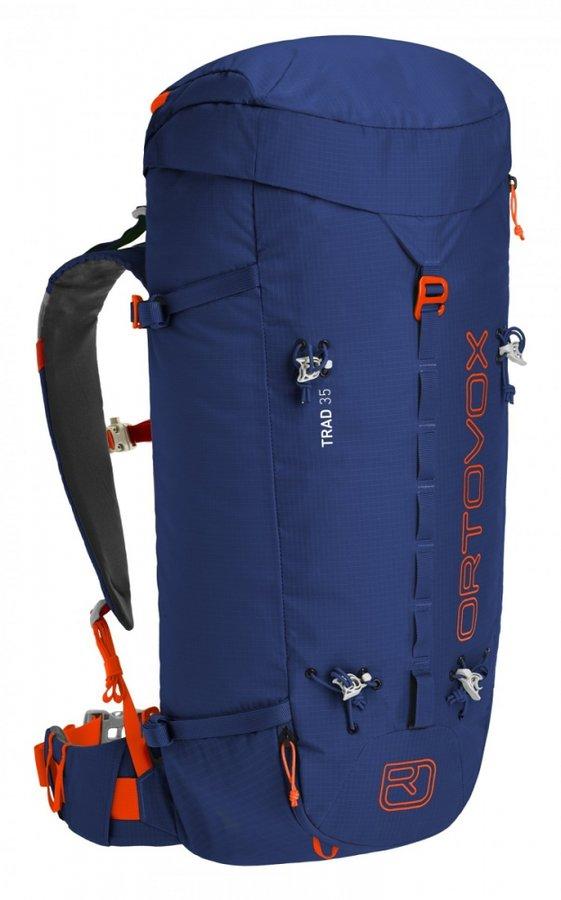 Modrý horolezecký batoh Ortovox - objem 35 l