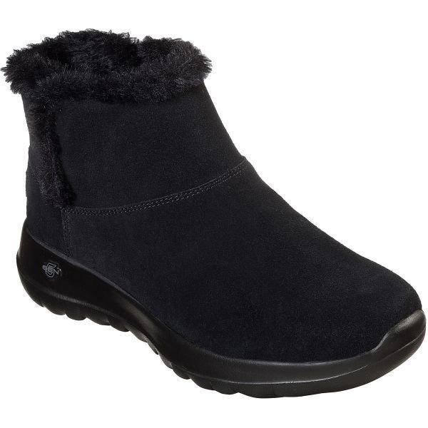 Černé dámské zimní boty Skechers - velikost 41 EU