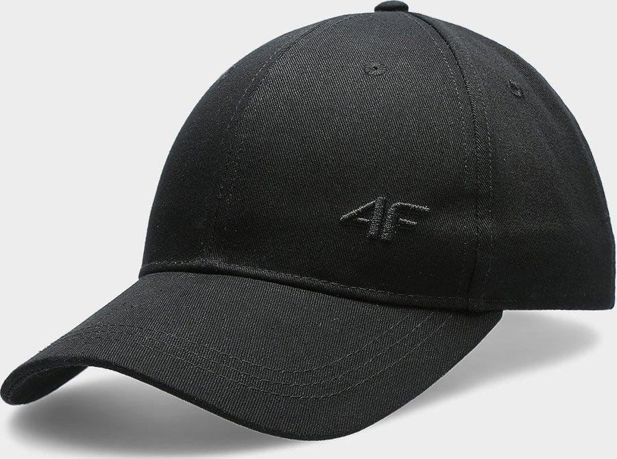 Černá pánská kšiltovka 4F