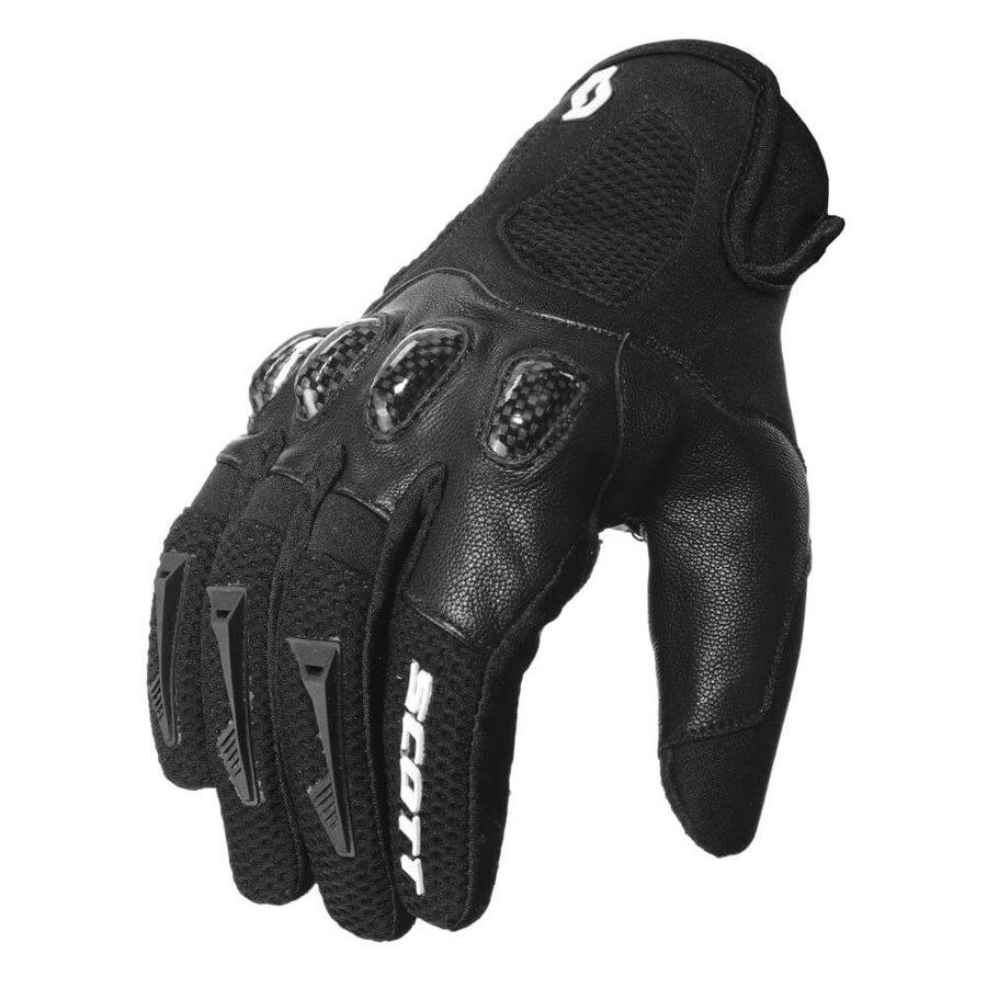 Kožené enduro motorkářské rukavice Assault, SCOTT