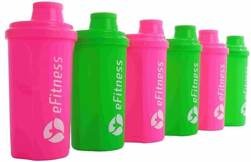 Shaker - Shaker eFitness RŮŽOVÝ růžový růžový