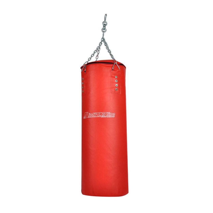 Červený boxovací pytel inSPORTline - 20 kg