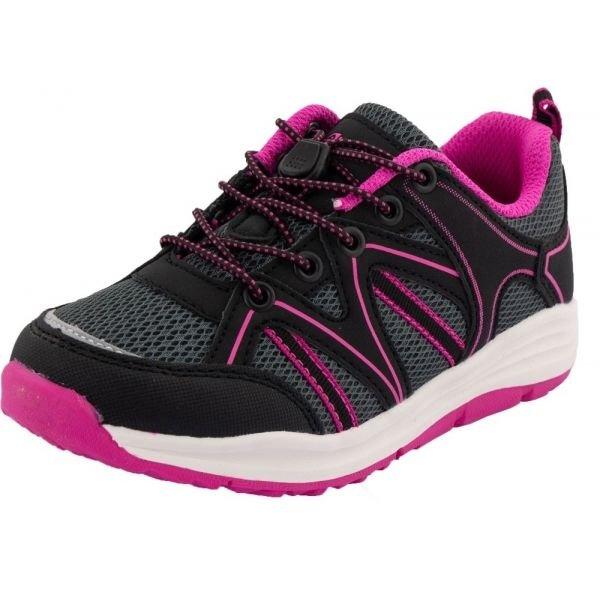 Růžové chlapecké trekové boty Alpine Pro