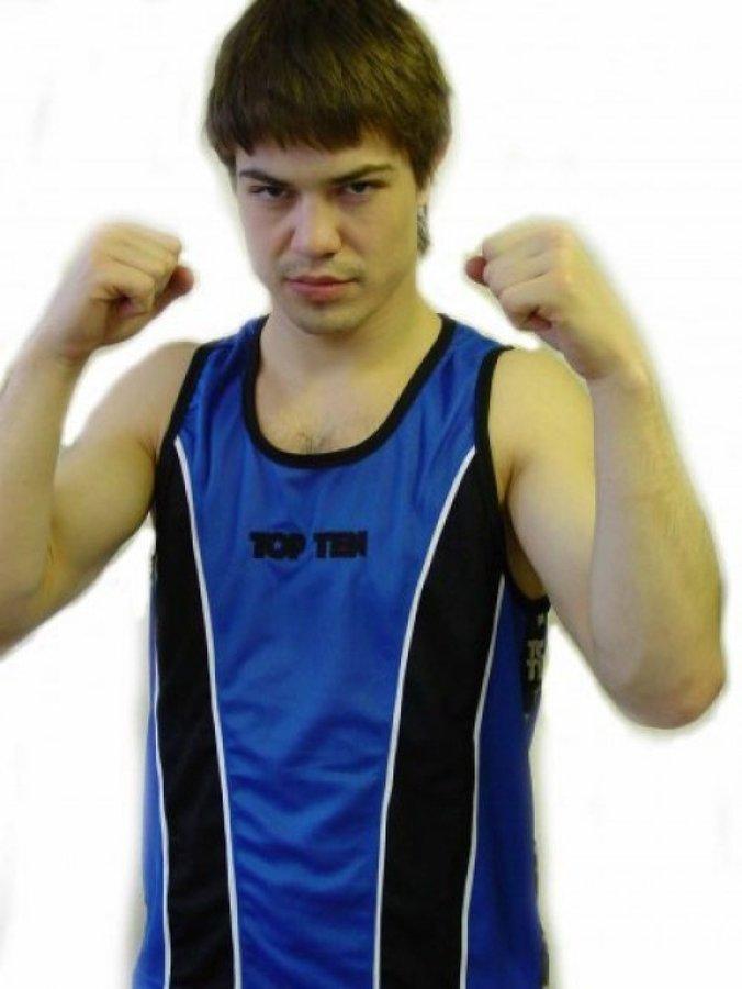Modré boxerské tílko Winner, Top Ten - velikost S