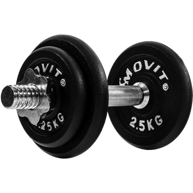 Nakládací činka Movit - 10 kg