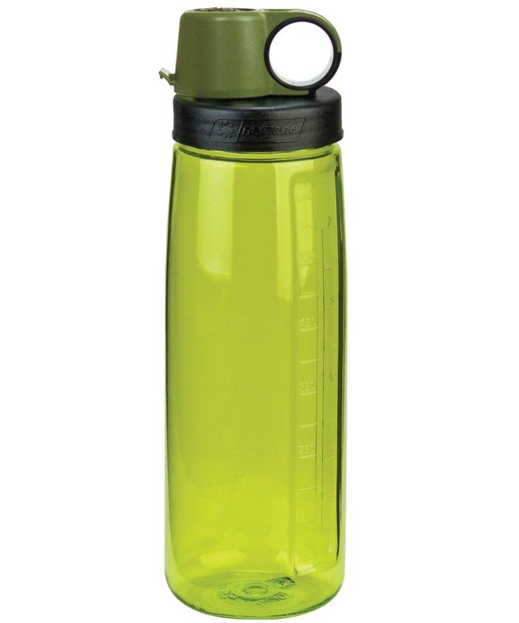Zelená láhev na pití OTG, Nalgene - objem 0,65 l
