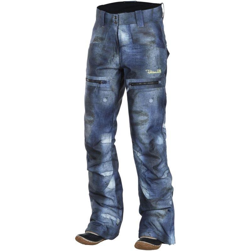 Modré dámské snowboardové kalhoty Rehall - velikost M