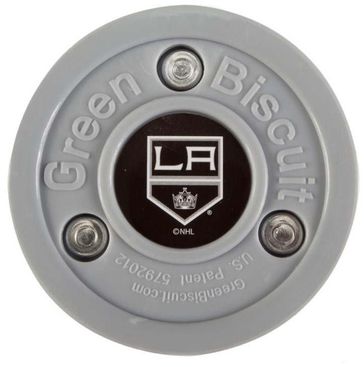 Hokejový puk off - ice Los Angeles Kings, Green Biscuit