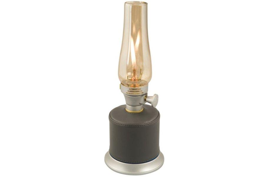 Šedá plynová kempingová lampa Campingaz