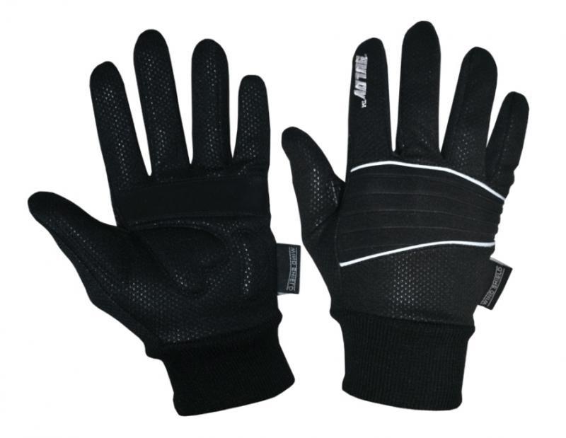 Rukavice na běžky - Sulov běžkařské rukavice černé - M