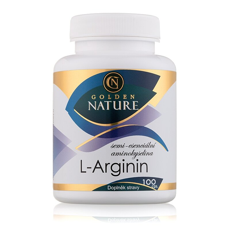 L-Arginin - Golden Nature Arginin 100 cps. - Nejprodávanější