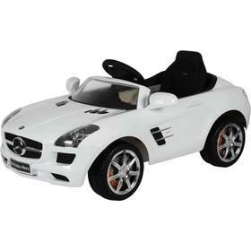 Bílé dětské elektrické autíčko Mercedes-Benz SLS, Buddy Toys