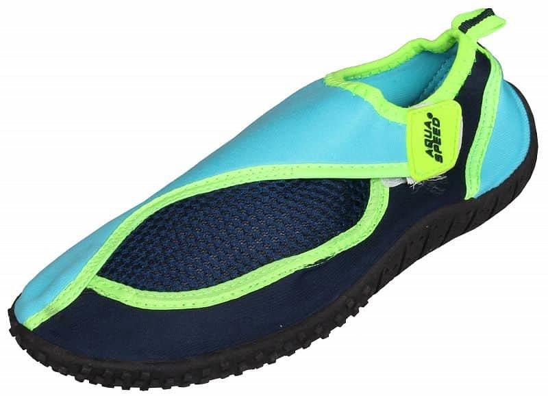Černo-růžové dětské boty do vody Jadran 26, Aqua-Speed