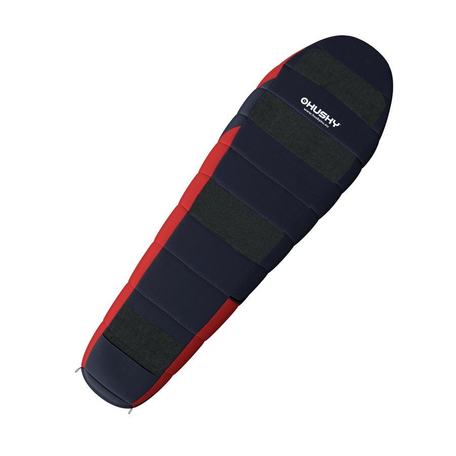 Červený spací pytel Husky - délka 210 cm