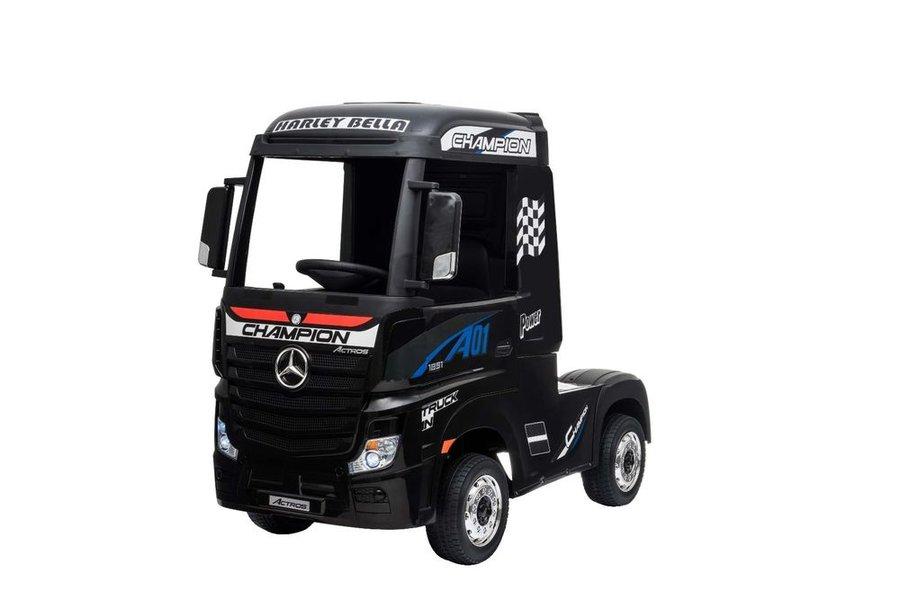 Černé dětské elektrické autíčko Beneo