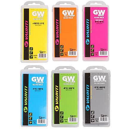 Vosk - sjezdový vosk GW tuhý, 90 g výkonnost běžce: mid