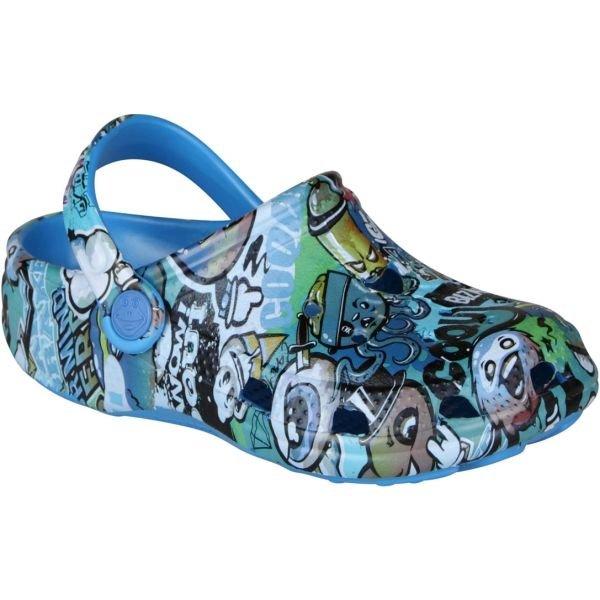 Modré dětské sandály Coqui - velikost 28-29 EU