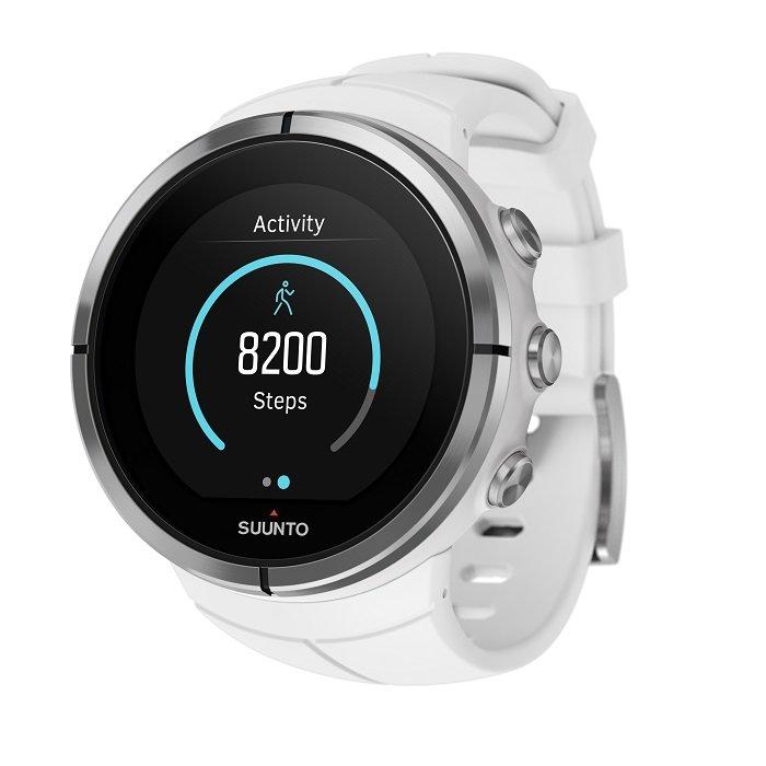Bílé chytré sportovní digitální hodinky Spartan Ultra, Spartan