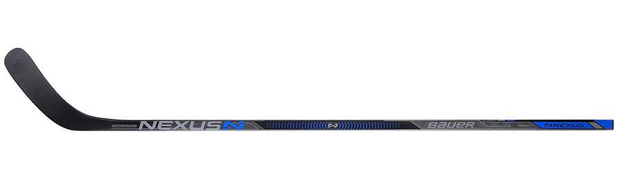 Hokejka - Kompozitová hůl Bauer NEXUS N7000 GRIPTAC Senior Provedení: pravá P92, flex 77