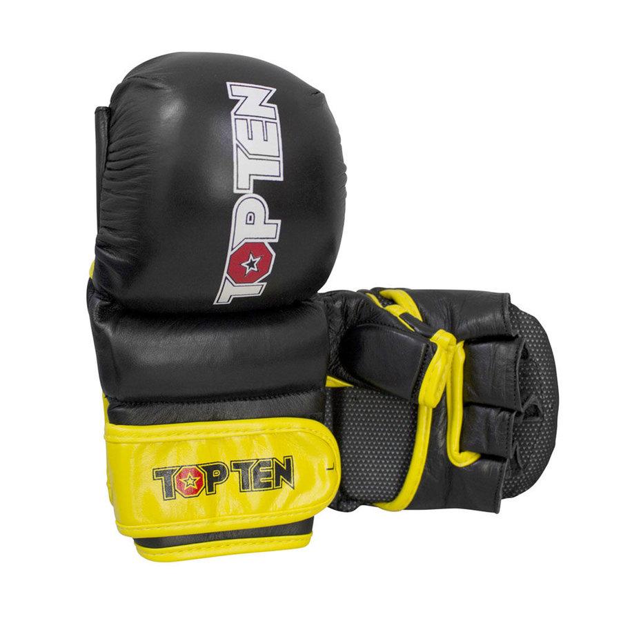 Černé MMA rukavice Top Ten