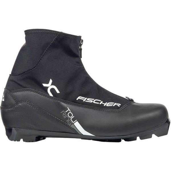 Černé pánské boty na běžky Fischer