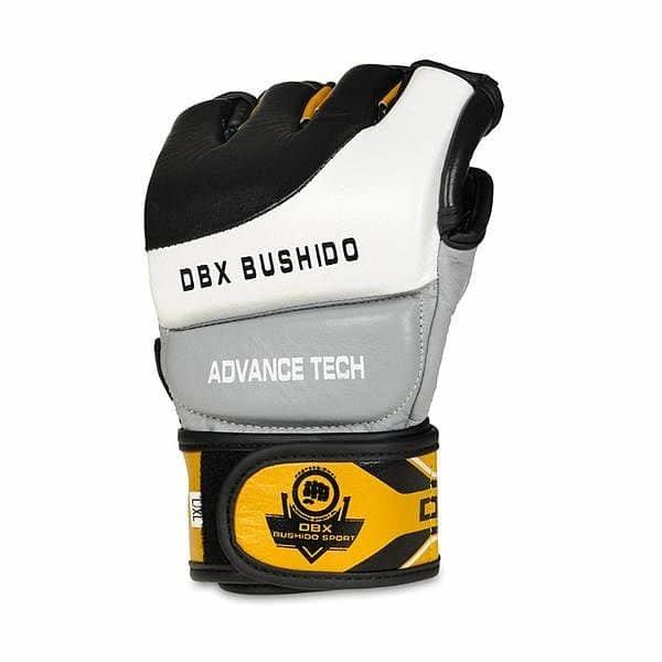 Černo-šedé MMA rukavice Bushido - velikost XL