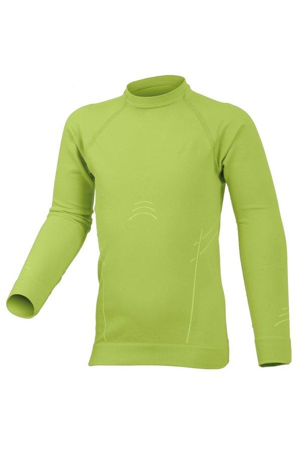 Zelené dětské chlapecké nebo dívčí termo tričko s dlouhým rukávem Lasting