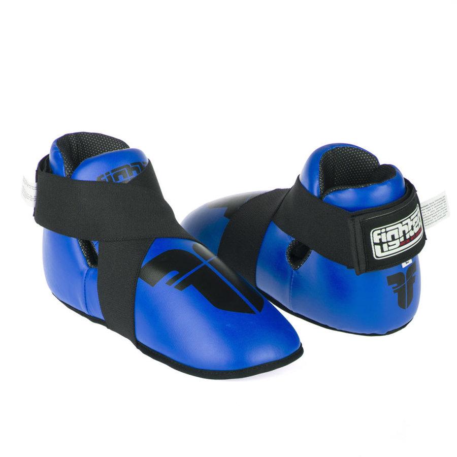 Modré chrániče na nohy Fighter