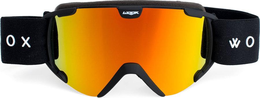 Černé dětské lyžařské brýle Woox